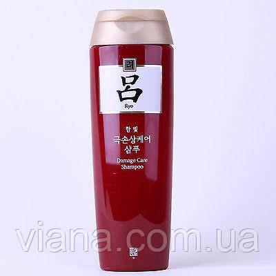 Восстанавливающий шампунь для тонких и поврежденных волос Ryoe Damage Care  180 мл