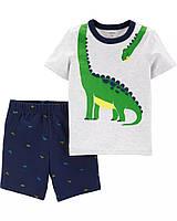 Детский летний комплект - футболочка и шорты Картерс  для мальчика
