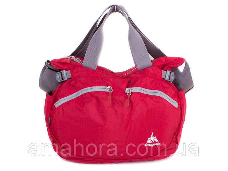 e197a7340245 Сумка через плечо Onepolar Женская спортивная сумка через плечо ONEPOLAR  (ВАНПОЛАР) W5220-red
