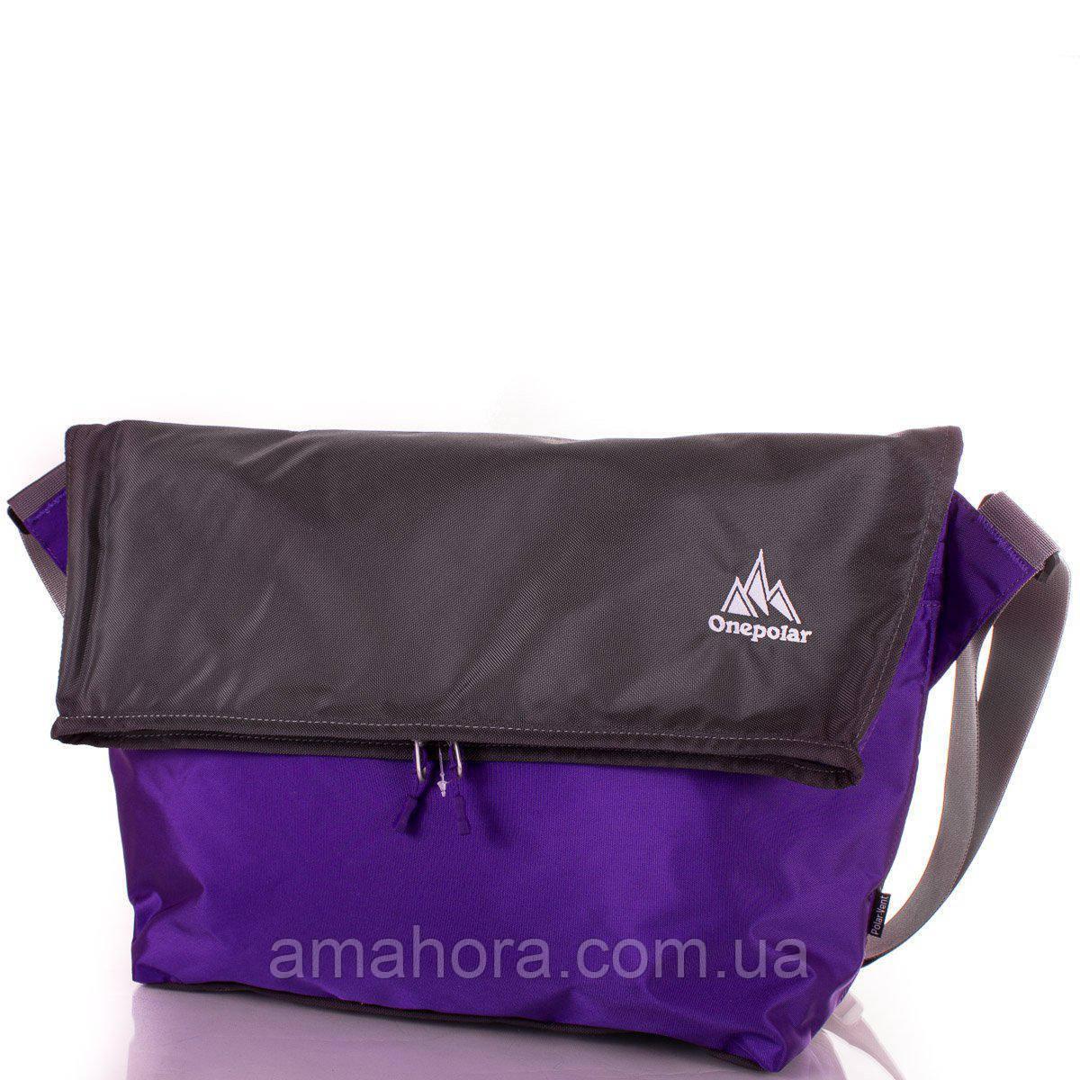 d21c363e0082 Сумка через плечо Onepolar Женская спортивная сумка через плечо ONEPOLAR  (ВАНПОЛАР) W5637-violet