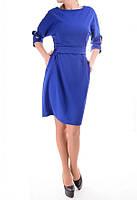 Женское платье синего цвета, фото 1