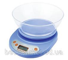 Бытовые электронные весы с овальной чашей до 5 кг D&T-01 Smart am