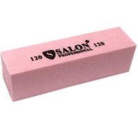 Бафик Salon Professional 120 грит - розовый,зеленый, синий, фиолетовый брусок