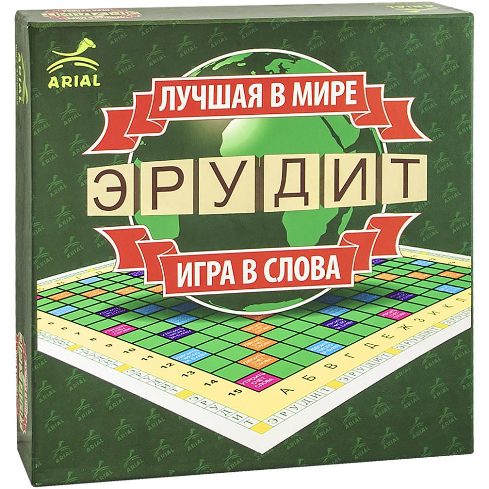Настольная игра Arial Эрудит-РОС. Игра в слова 910091-1