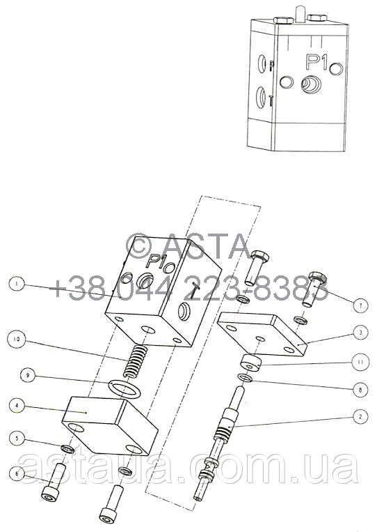 Тормозной переключатель TB910000100