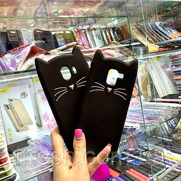 Чехол Кот для Samsung J4+