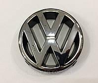 Эмблема решетки радиатора Volkswagen VW Trasporter T4 Caravelle косая морда 3B0853601, фото 1