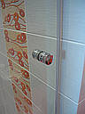 Стеклянная душевая дверь 900*1800 коричневая, фото 6