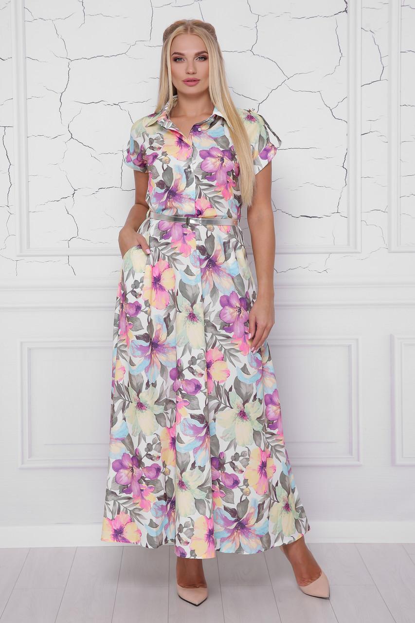 9a352c5bfc017d2 Купить Женское стильное платье макси София fnc-1084 в интернет ...
