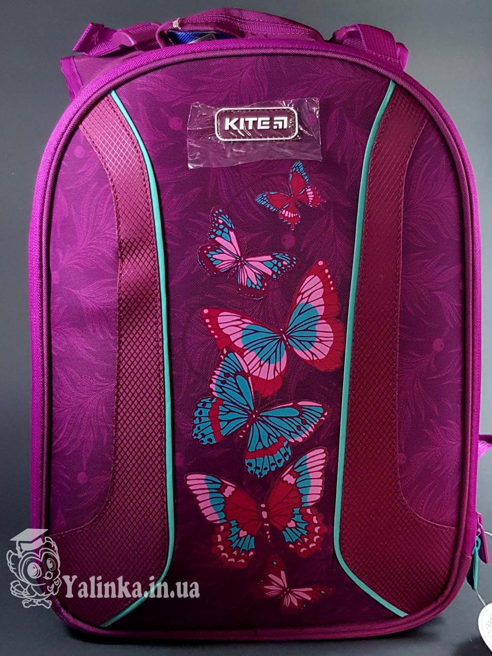 Рюкзак школьный каркасный Kite Education 703-1 Butterflies K19-703M-1 ранец  рюкзак школьный hfytw ranec