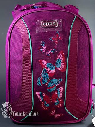 Рюкзак школьный каркасный Kite Education 703-1 Butterflies K19-703M-1 ранец  рюкзак школьный hfytw ranec, фото 2