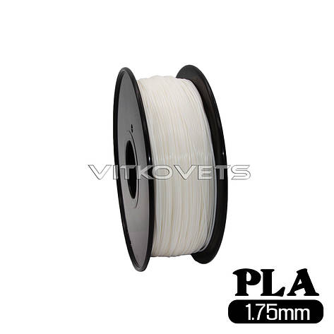 Пластиковая нить PLA, 1.75 мм, 1 кг (белый), фото 2