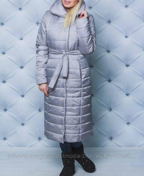 Длинное пальто зимнее женское 42-58