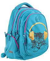 Рюкзак шкільний Т-22 Step One Musical Cat, Yes, фото 1