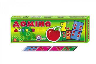 Домино «Детское Техно» настольная игра