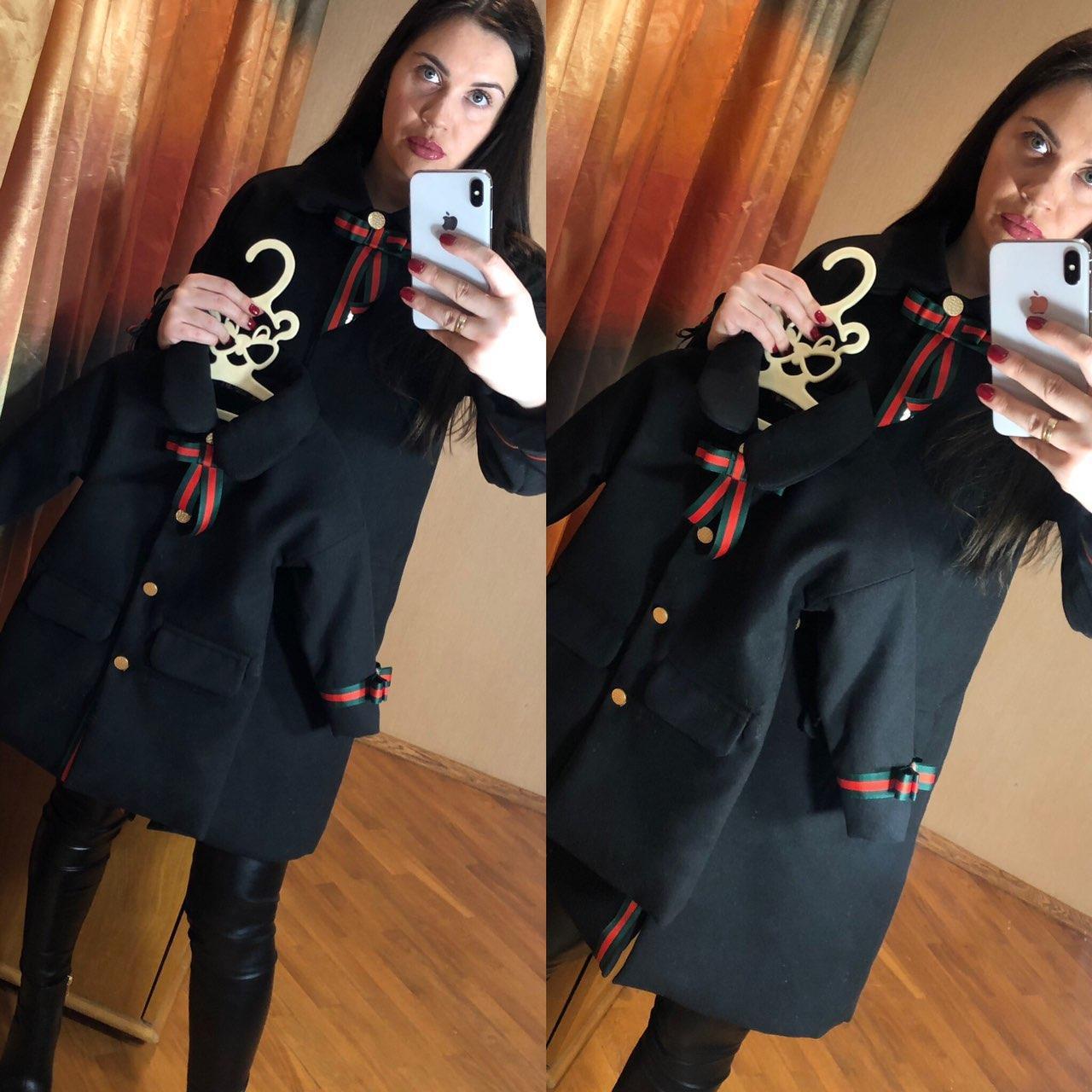 Пальто в стиле family look, женское пальто, детское пальто, фэмили лук , фемили лук