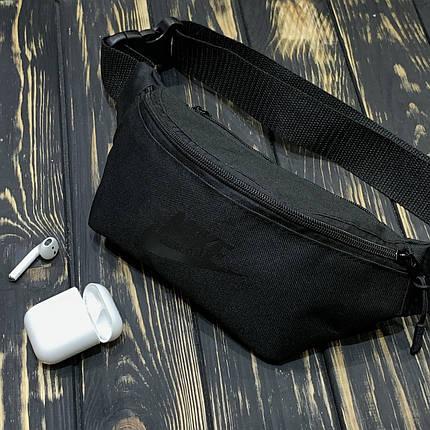 Мужская Бананка черная Найк (Nike), фото 2