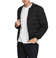 Мужская теплая укороченная куртка