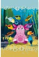Большое детское полотенце Подводный мир