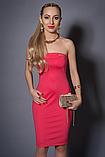 Платье женское с балеро,мод 473-3 размеры  44 коралл, фото 2