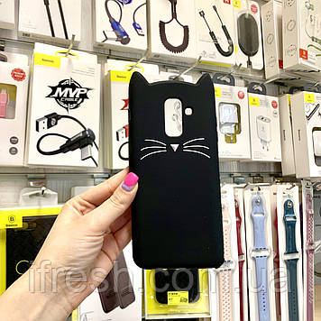 Чехол Кот для Samsung J8/A6+