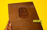 Деревянные папки меню с лазерной гравировкой., фото 2