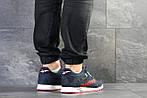Мужские кроссовки Reebok (темно-синие с красным) , фото 2