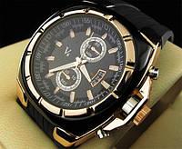 Кварцевые мужские часы V6 Vogue Luxury Gold