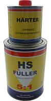 Грунт акриловый HS Fuller 5+1 черный 1л (Moto Gama)