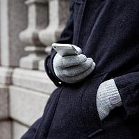 Темно-серые перчатки Moshi Digits (L) для сенсорных экранов iPhone/iPod/iPad/Android