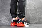 Мужские кроссовки Nike Air Max 95 + Max 270 (темно-синие с красным), фото 2