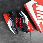Мужские кроссовки Nike Air Max 95 + Max 270 (темно-синие с красным), фото 4