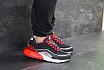 Мужские кроссовки Nike Air Max 95 + Max 270 (темно-синие с красным), фото 5
