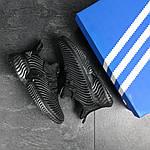 Мужские кроссовки Adidas (черные), фото 2
