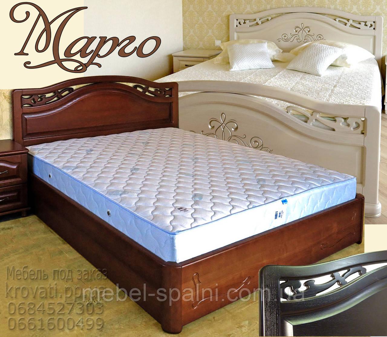 Кровать деревянная «Марго» - витрина, фото 1