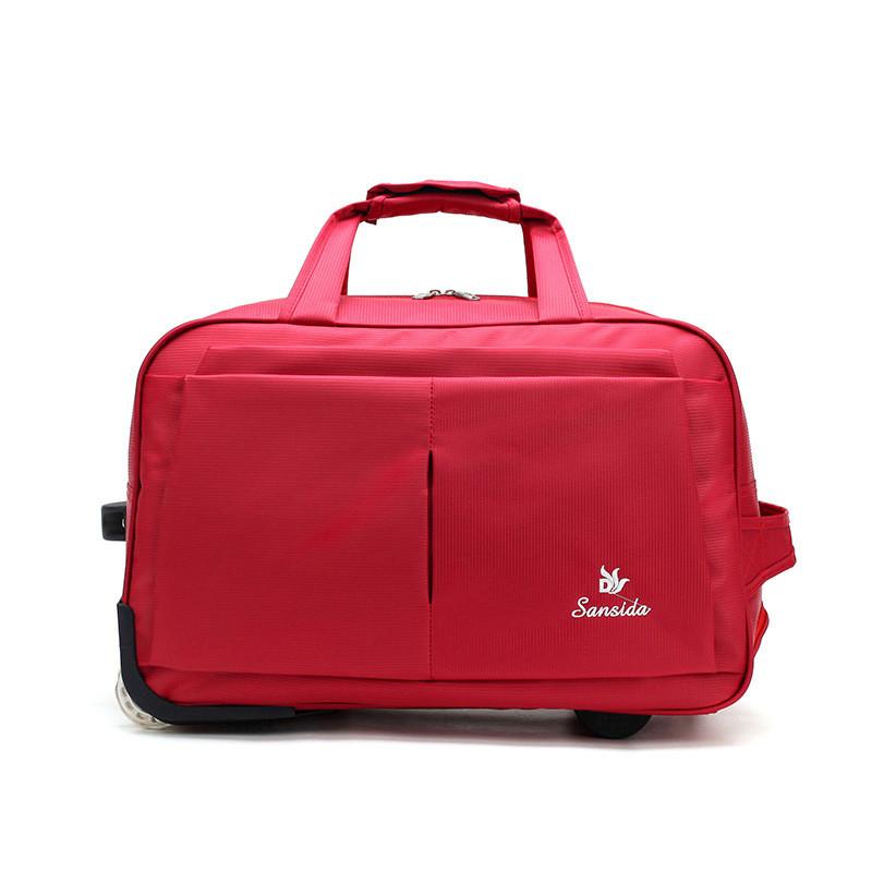 (35*58)Дорожня сумка на колесах Відмінна якість тільки оптом