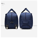 (35*58)Дорожня сумка на колесах Відмінна якість тільки оптом, фото 3