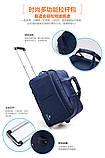 (35*58)Дорожня сумка на колесах Відмінна якість тільки оптом, фото 7