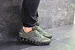 Мужские кроссовки Reebok Zignano (темно-зеленые), фото 4