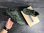Мужские кроссовки Reebok Zignano (темно-зеленые), фото 5