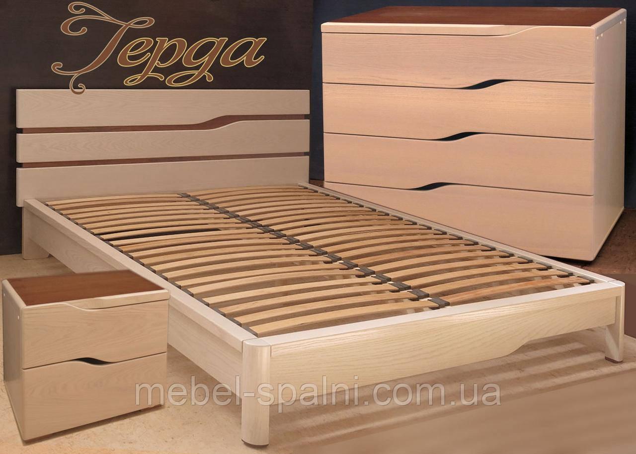 Кровать деревянная «Герда», фото 1