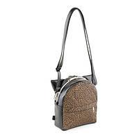 Рюкзак KotiСo Micro 20х16х7 см черный титан с золотым узором
