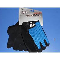 Перчатки велосипедные FOX  без пальцев (размер S ,L ,M)
