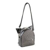 Рюкзак KotiСo Micro 20х16х7 см черный титан с серебряным узором
