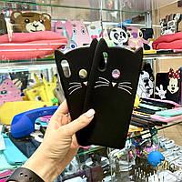 Чехол Кот для Huawei P Smart+, P Smart Plus