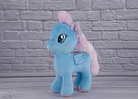 Мягкая игрушка Лошадка Голубая, фото 1