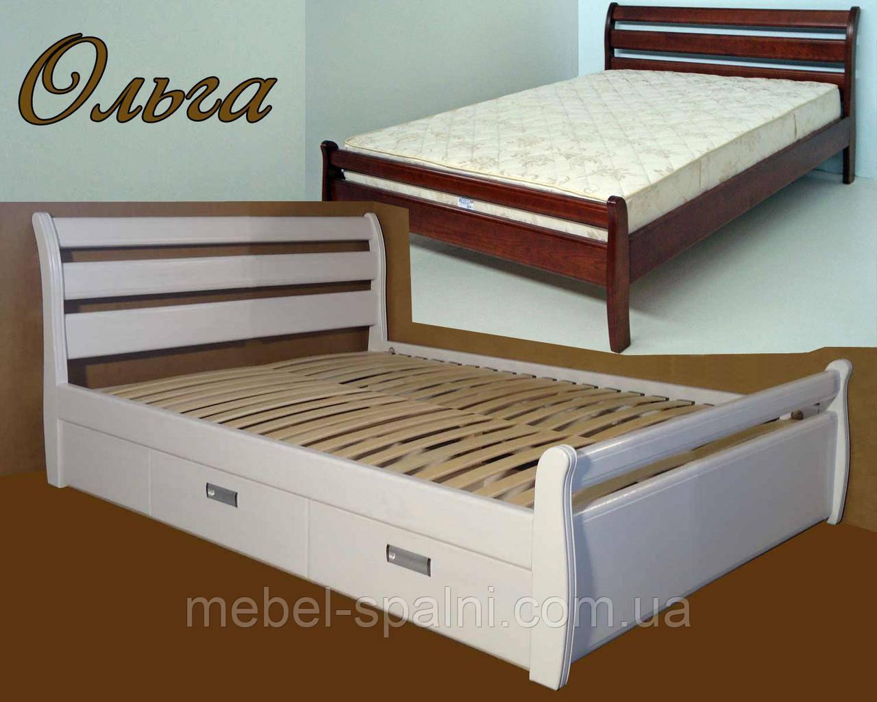 Кровать деревянная «Ольга»
