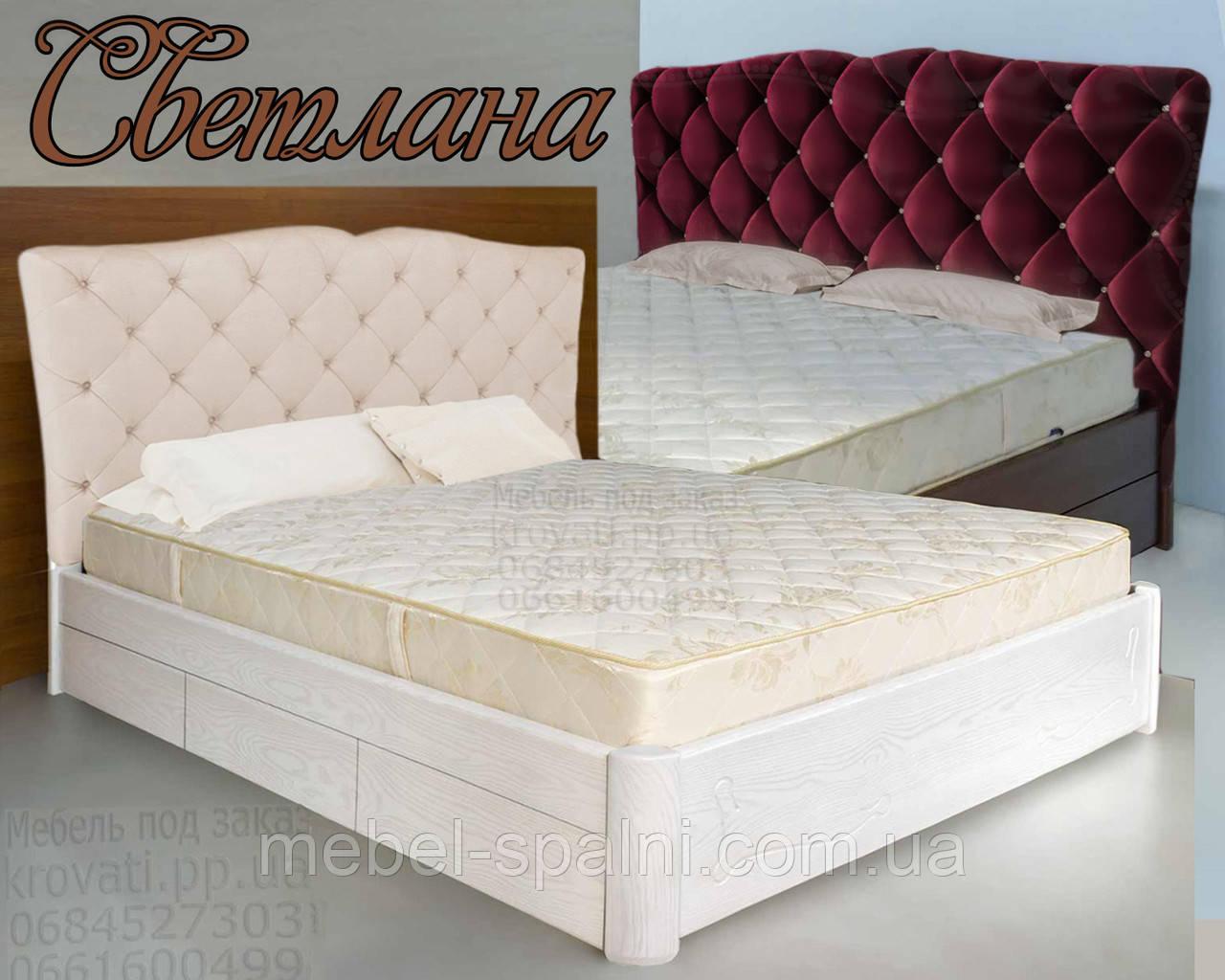 Кровать деревянная «Светлана», фото 1