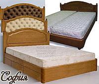 Ліжко дерев'яне «Софія», фото 1