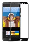 Захисне скло Full Glue Moto G6 Play / XT1922 Чорне